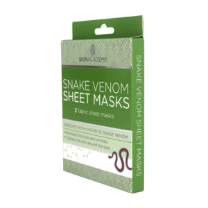 Skin Academy Sheet Mask – Snake Venom