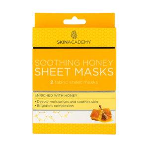 Skin Academy Sheet Mask – Soothing Honey