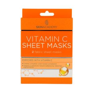 Skin Academy Sheet Mask – Vitamin C