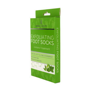 Skin Academy Exfoliating Foot Socks – Tea Tree & Peppermint