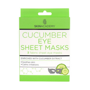 Skin Academy Eye Sheet Mask – Cucumber