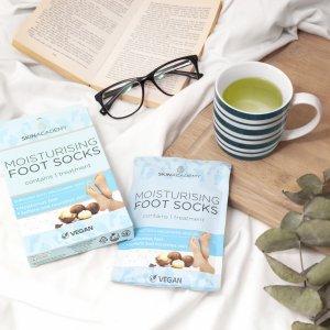 Skin Academy Moisturising Foot Socks – Macadamia Nut