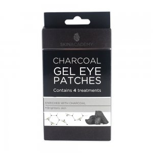 Skin Academy Gel Eye Patches – Charcoal