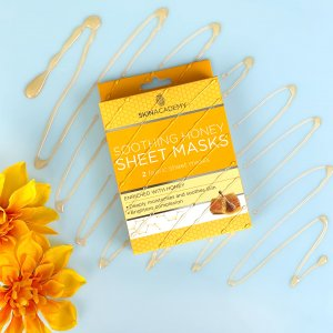 Skin Academy Sheet Mask – Soothing Honey
