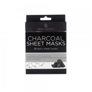Skin Academy Sheet Mask – Charcoal