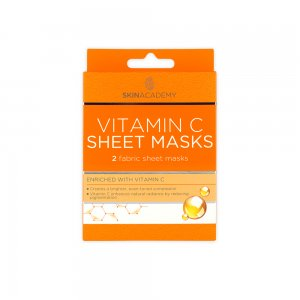 Skin Academy Sheet Mask – Vitamin C
