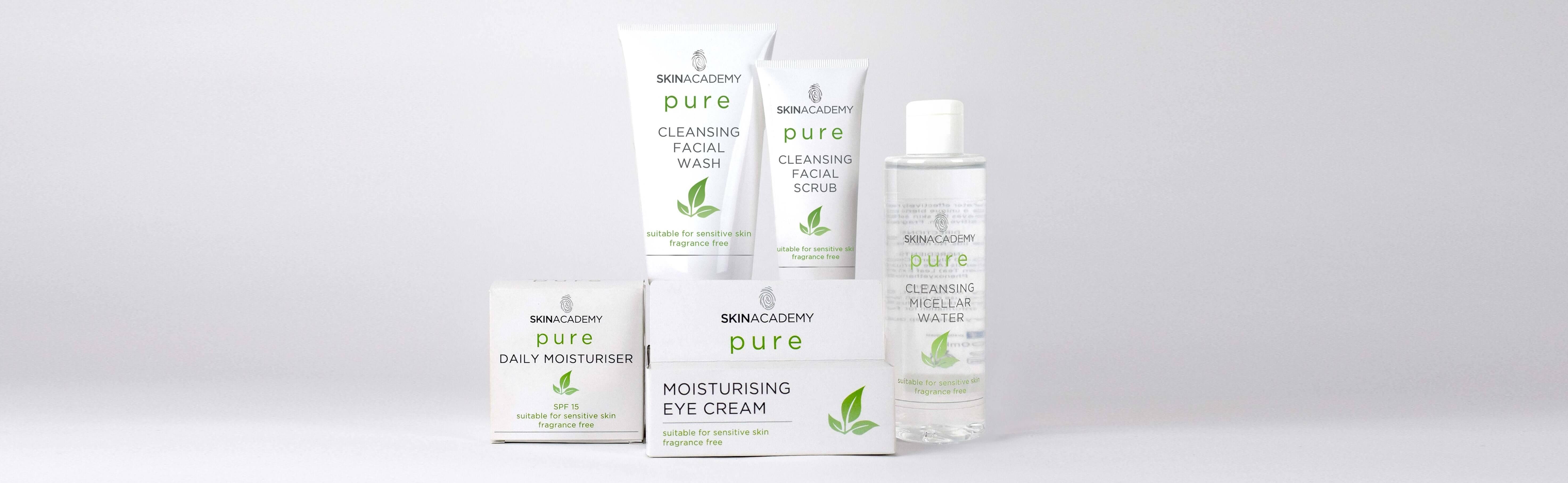 Skin Academy Pure Range Together