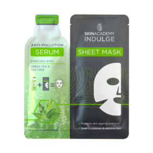 Skin Academy Indulge Anti-Pollution Serum Sheet Mask – 25ml