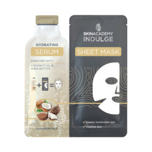 Skin Academy Indulge Hydrating Serum Sheet Mask – 25ml