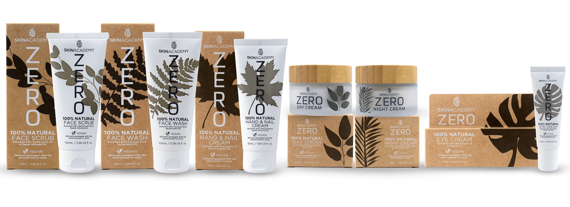 THE LAUNCH OF SKIN ACADEMY'S ZERO SKINCARE LINE